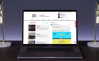 Agence de création de site Internet pour festival de cinéma à Biarritz