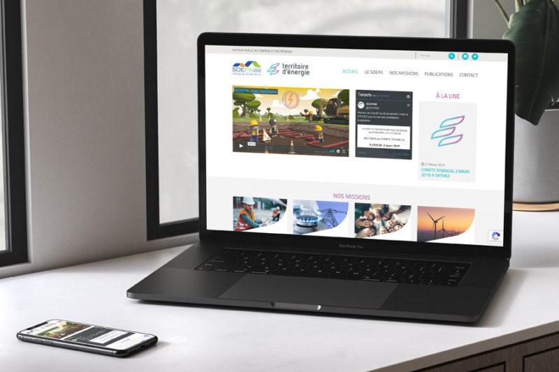 Le Syndicat d'Énergie des Pyrénées Atlantiques (SDEPA) confie la refonte de son site Internet à REZO 21