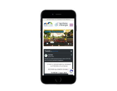 Agence de création de sites Internet au pays basque responsive mobile Wordpress