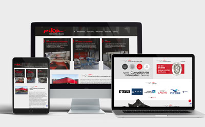 A l'occasion du JEC 2019, Pika Composites confie l'évolution de son site Internet et de son site Internet à l'agence REZO 21