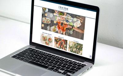 L'Olive Bleue, nouvelle marque d'épicerie fine de Provence de Agapé Group lance son site internet