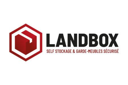 Le studio graphique de l'agence REZO 21 Anglet Pays basque réalise le logo de Landbox