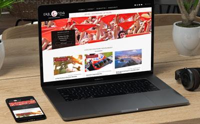 L'agence de voyages Erronda renouvelle son site Internet multilingue avec REZO 21