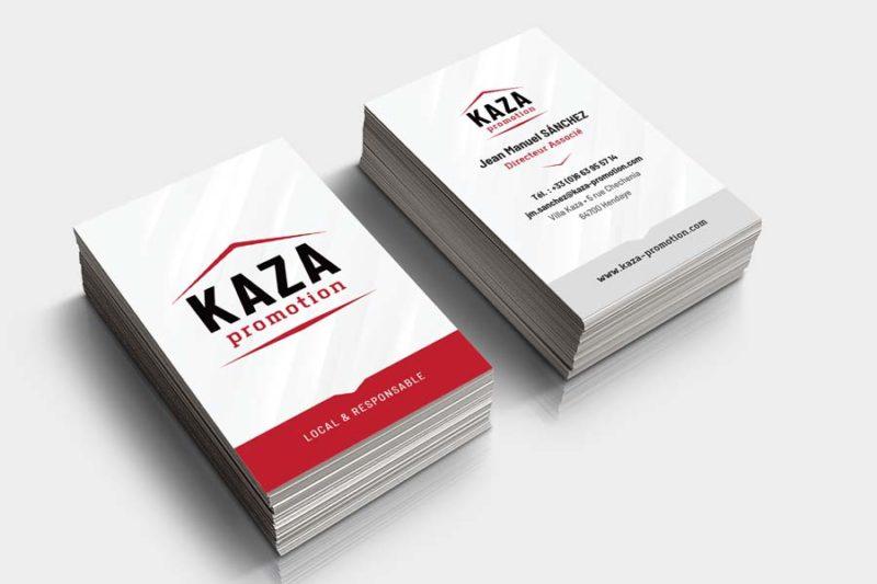 Agence de création graphique au pays basque pour cartes de visite