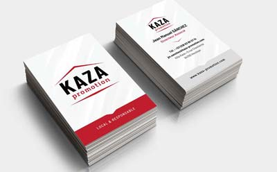 KAZA promotion immobilière au Pays Basque confie la conception de son identité visuelle et de son site Internet à l'agence REZO 21