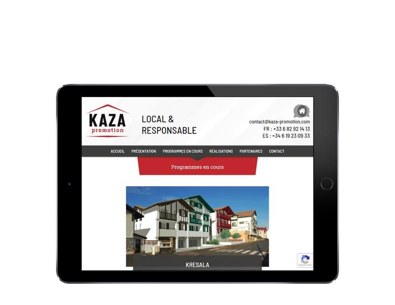 rezo 21 agence de création de site internet sur mesure au pays basque pour les promoteurs immobiliers