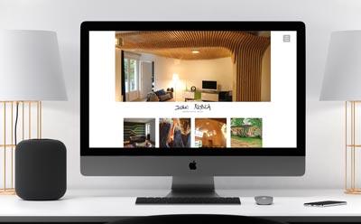 L'architecte installé à Cambo-les-bains confie la refonte de son site Internet à l'agence web REZO 21