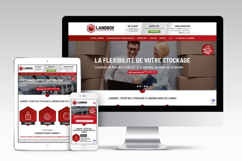 Landbox, location de box et garde-meubles à Labenne est prêt pour son ouverture prochaine