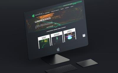 LuminoKrom® lance son site Internet et sa boutique pour les professionnels avec l'agence web REZO 21