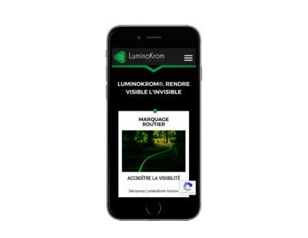 REZO 21, agence de création de sites internet sur mesure avec wordpress au pays basque a anglet, développe le site LuminoKrom