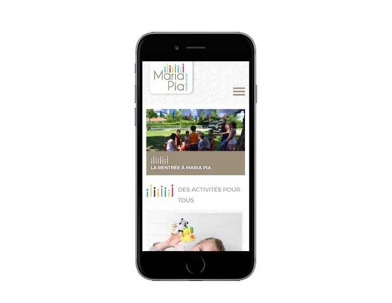 REZO 21 agence de création de site internet avec wordpress site internet pour centre social au pays basque