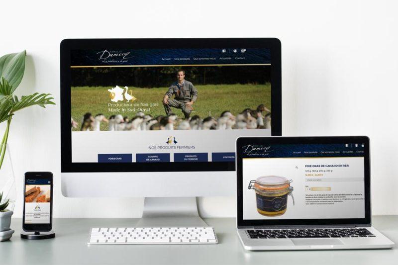 Famille Dumecq lance une nouvelle version responsive design de sa boutique en ligne avec REZO 21