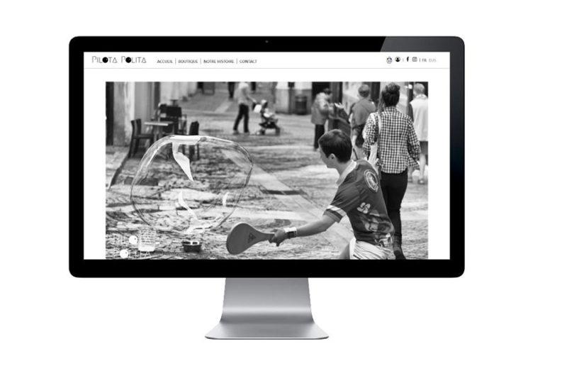REZO 21 agence web de création de sites internet au pays basque est mécène du calendrier pilota polita 2020