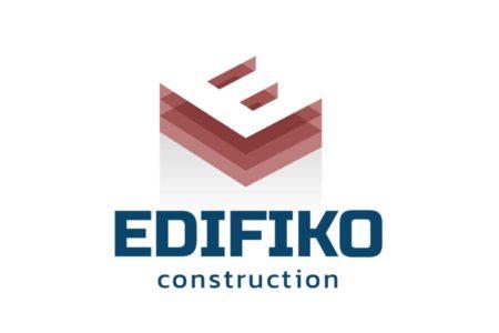 REZO 21 studio graphique conçoit le logotype de la société de construction EDIFIKO