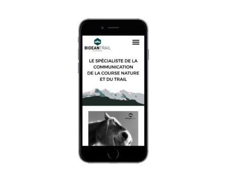REZO 21 agence web de création de site Internet au pays basque développe avec wordpress le nouveau site web BIDEAN TRAIL pour Flashcompo Bayonne