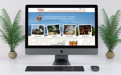 Le Camping Alegera à Espelette confie la refonte de son site Internet à l'agence REZO 21