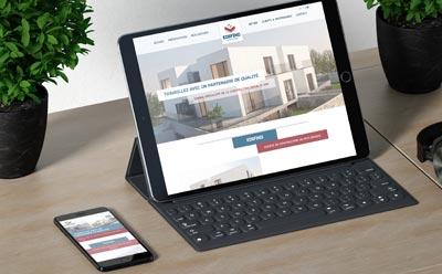 Edifiko lance son site Internet avec l'agence web REZO 21
