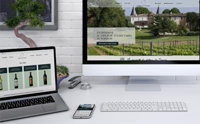 Le Château de Seguin se dote d'un nouveau site Internet avec l'agence web REZO 21
