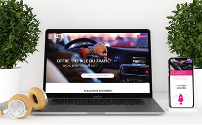 Un nouveau site web pour la régie publicitaire Ketil Media