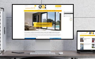 Un nouveau site Internet pour la Menuiserie EGI