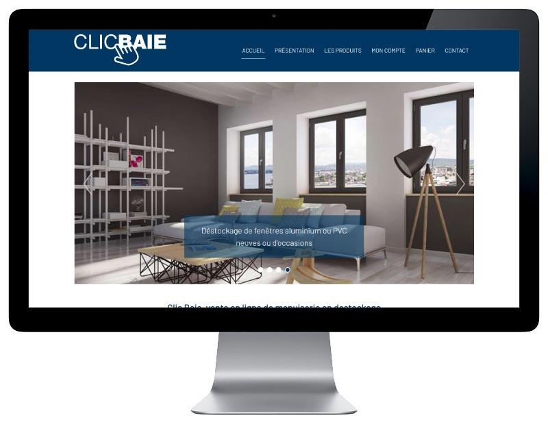 REZO 21 agence web développe avec Woocommerce le marketplace Clic Baie