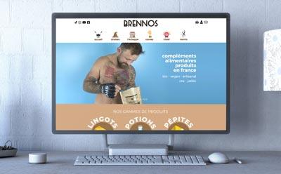 Une toute nouvelle boutique en ligne pour les compléments alimentaires Brennos