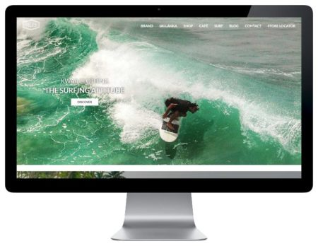 Rezo 21 agence web développe le nouveau site Internet WordPress de Kwaii Paradise