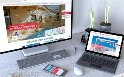 REZO 21 agence web de création de sites Internet Wordpress au pays basque développe le nouveau site Internet Ambiance Vérandas Vendée