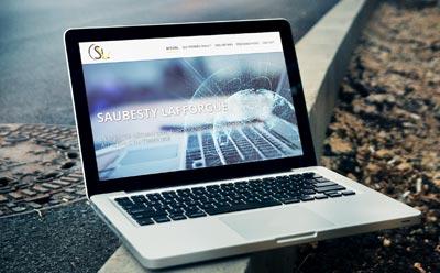 Nouveau site Internet WordPress pour Saubesty Lafforgue