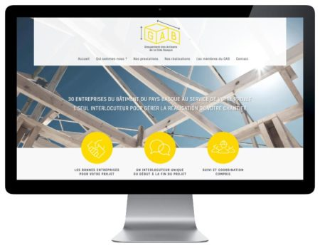 REZO 21 agence wordpress pour les artisans Pays Basque responsive design