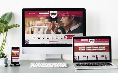 Nouveau ecommerce avec WordPress pour Clic Vin