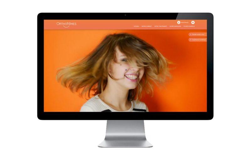 REZO 21 développe le site WordPress du cabinet orthodontistes OrthoNimes