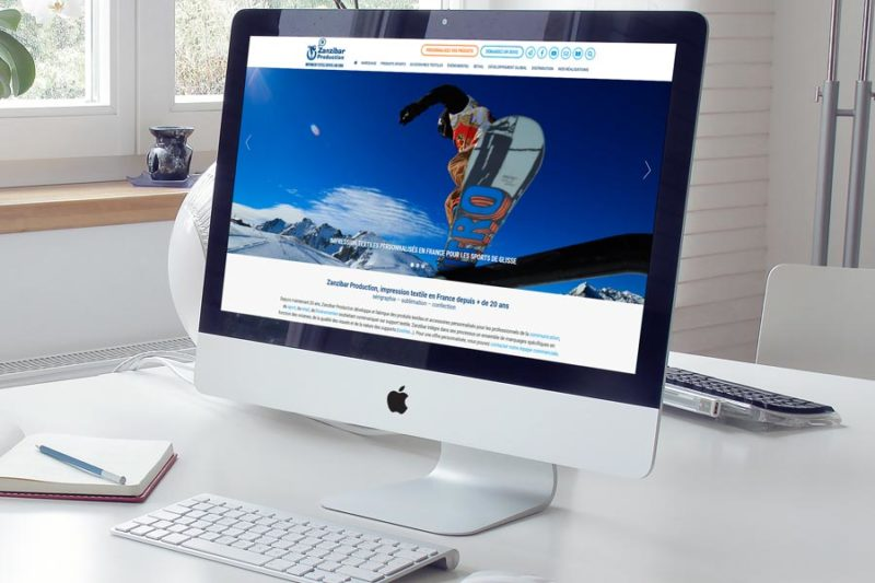 Nouvelle version du site Zanzibar Production pour ses 20 ans