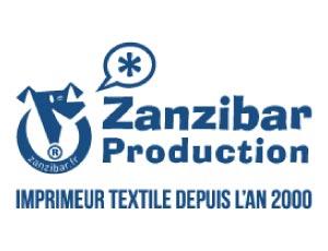 Zanzibar Production Imprimeur textile client de l'agence WordPress REZO 21 Pays Basque