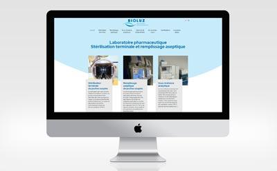 Nouveau site vitrine multilingue pour Bioluz