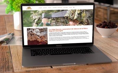 Nouveau site WordPress pour l'association Le Liège Gascon