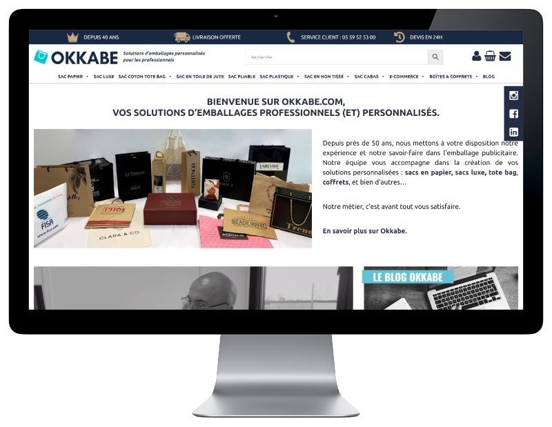 Woocommerce Okkabe responsive desktop