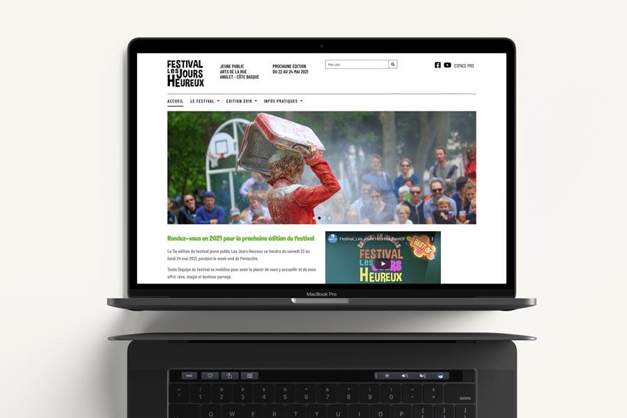 La ville d'Anglet met en ligne le site Internet du Festival Les Jours Heureux