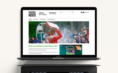 site wordpress festival les jours heureux anglet