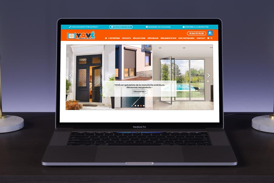 Développement du nouveau site WordPress de YOVÉ