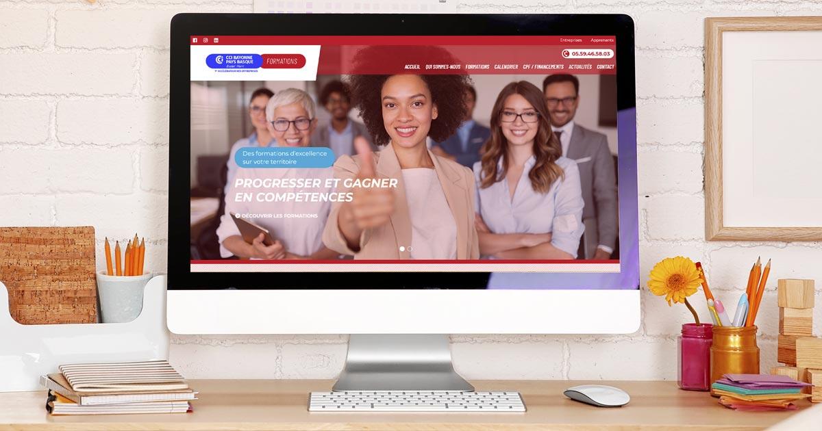 Le pôle formation de la CCI Bayonne Pays Basque lance son site Internet