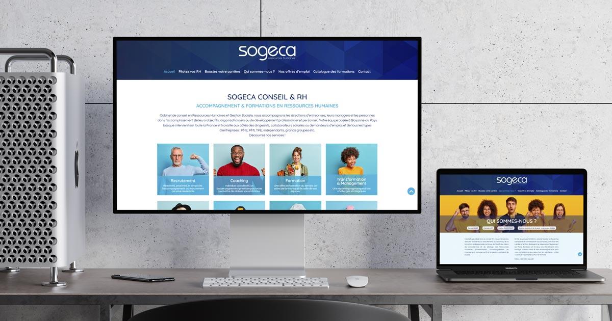La branche Conseil RH de SOGECA lance son site Internet avec REZO 21